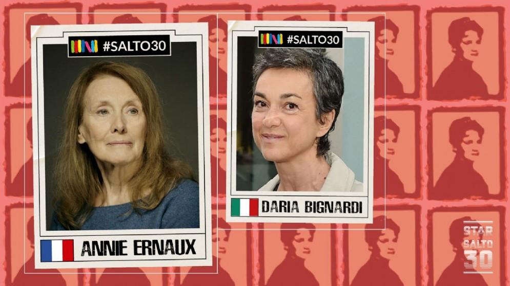 Annie Ernaux dialoga con Daria Bignardi