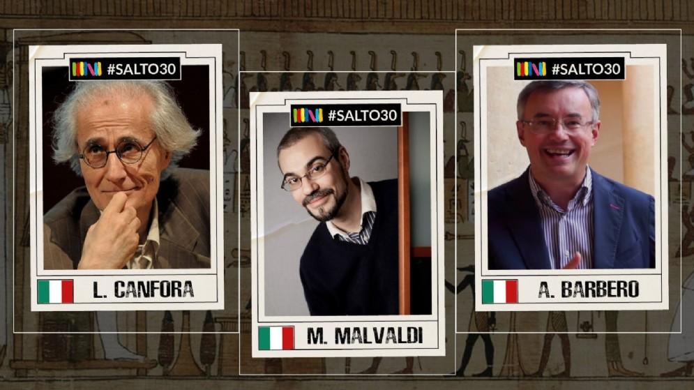 Canfora, Malvaldi e Barbero