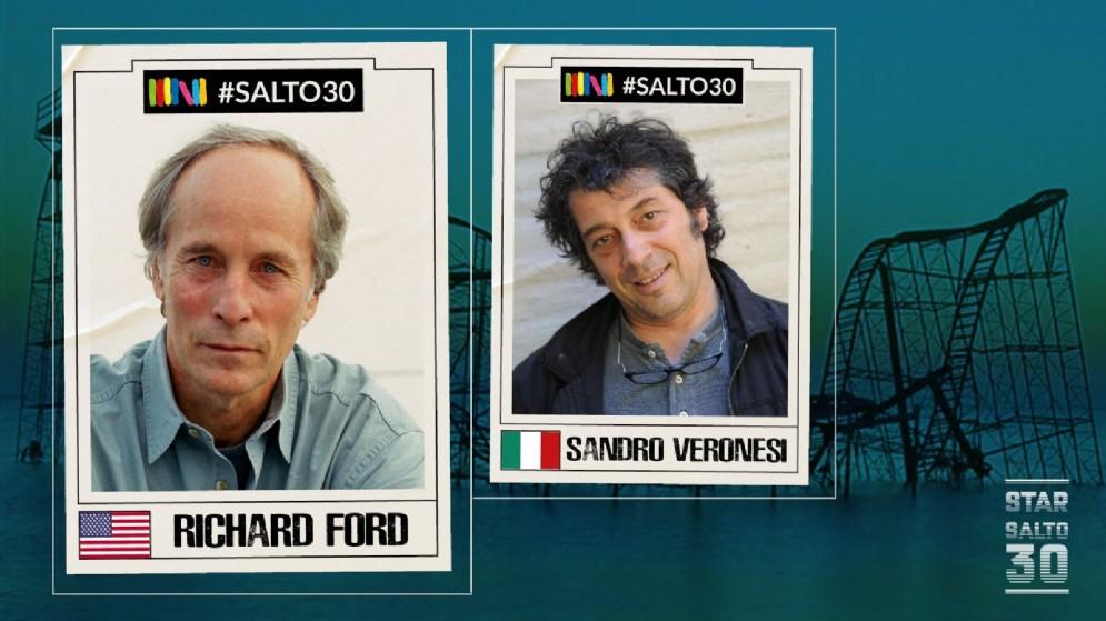 Richard Ford dialoga con Sandro Veronesi