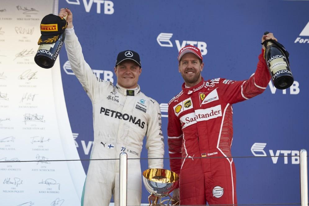 Bottas e Sebastian Vettel: sarà la coppia della Mercedes 2018?