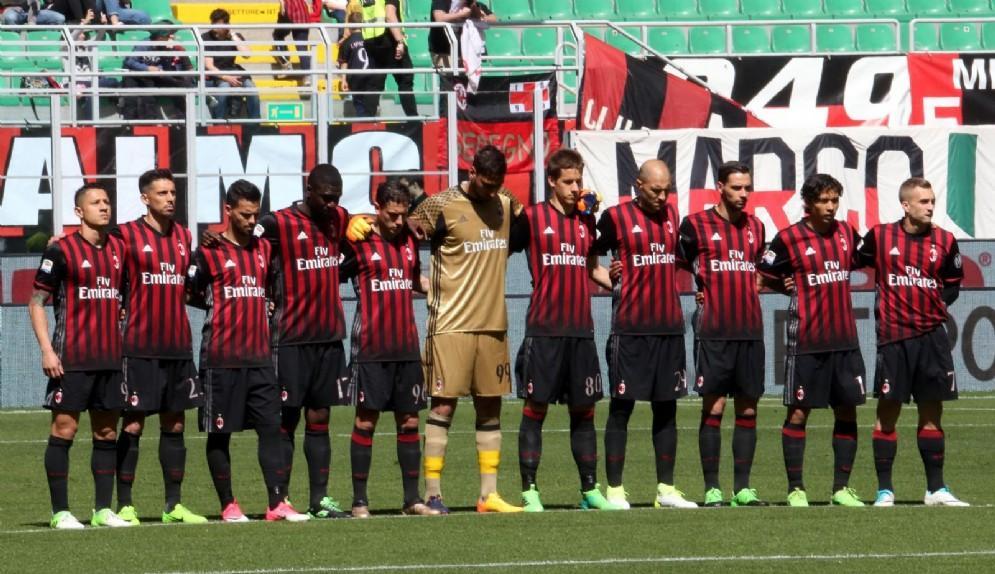 Un'immagine del Milan 2016-2017