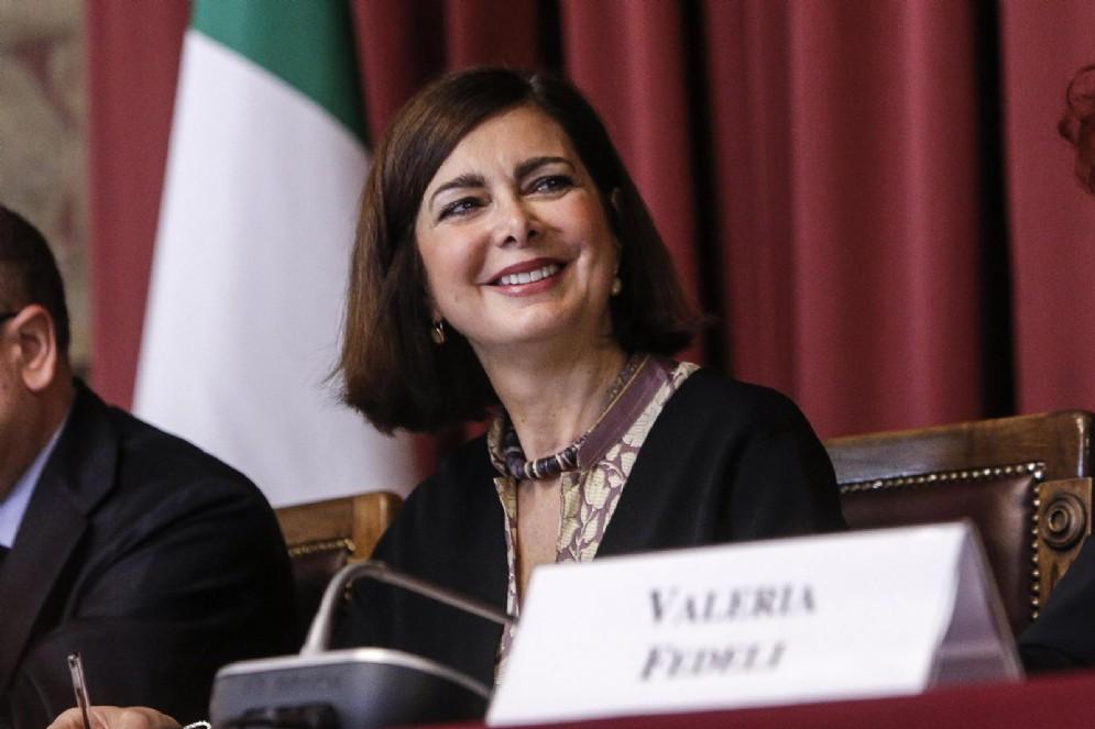 Il presidente della Camera, Laura Boldrini