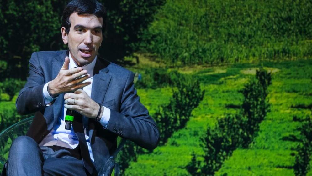 Il ministro dell'Agricoltura, Maurizio Martina.