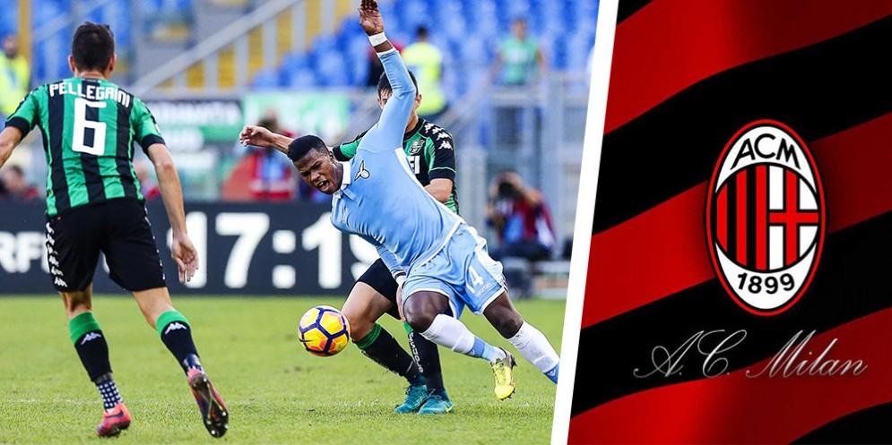 L'attaccante della Lazio Keita