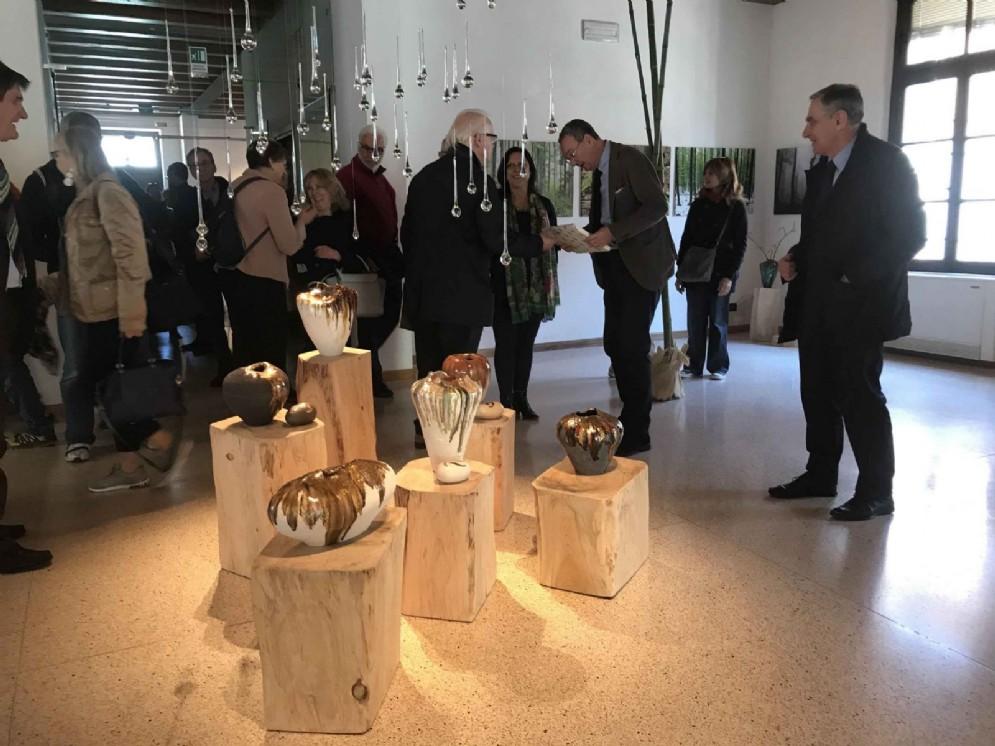 """Sergio Bolzonello (Vicepresidente Regione FVG e assessore Attività produttive, Turismo e Cooperazione) all'inaugurazione di """"D'erbe, di natura e benessere"""""""