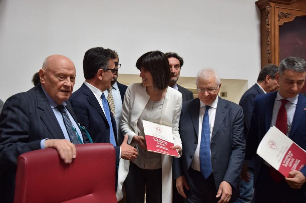 La prima cittadina Chiara Appendino ha preso parte alla conferenza stampa per l'inaugurazione dello Stadio Filadelfia che avverrà il 25 maggio