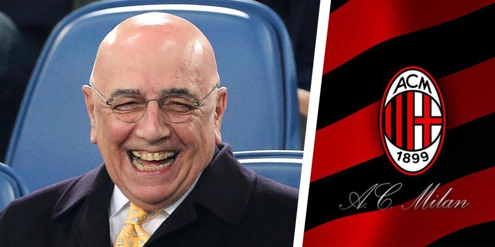 L'ex ad del Milan Adriano Galliani