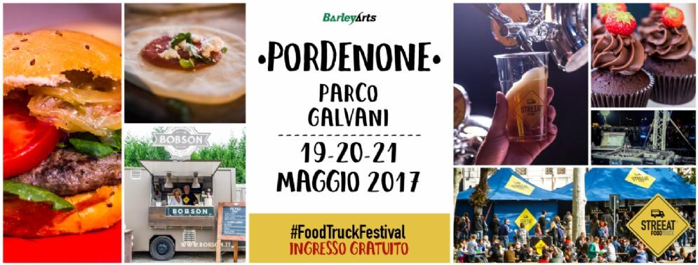 StreEat-Food Truck Festival, la 1ª edizione nel 'polmone verde' di Pordenone