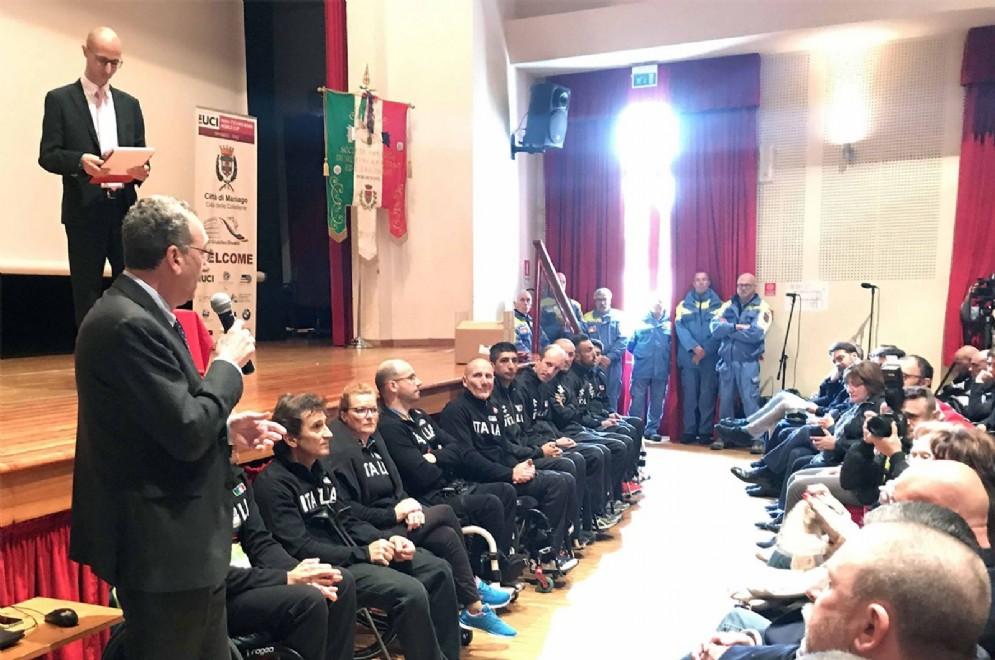 L'evento organizzato dalla Società Operaia di Mutuo Soccorso e Istruzione all'Auditorium dell'Istituto don Bosco con studenti delle scuole pordenonesi