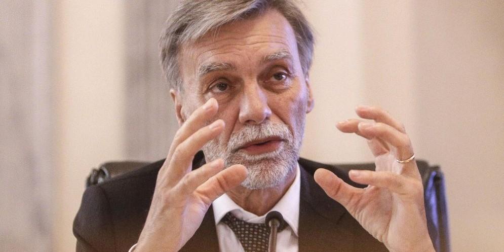 Il ministro delle Infrastrutture e dei Trasporti Graziano Delrio