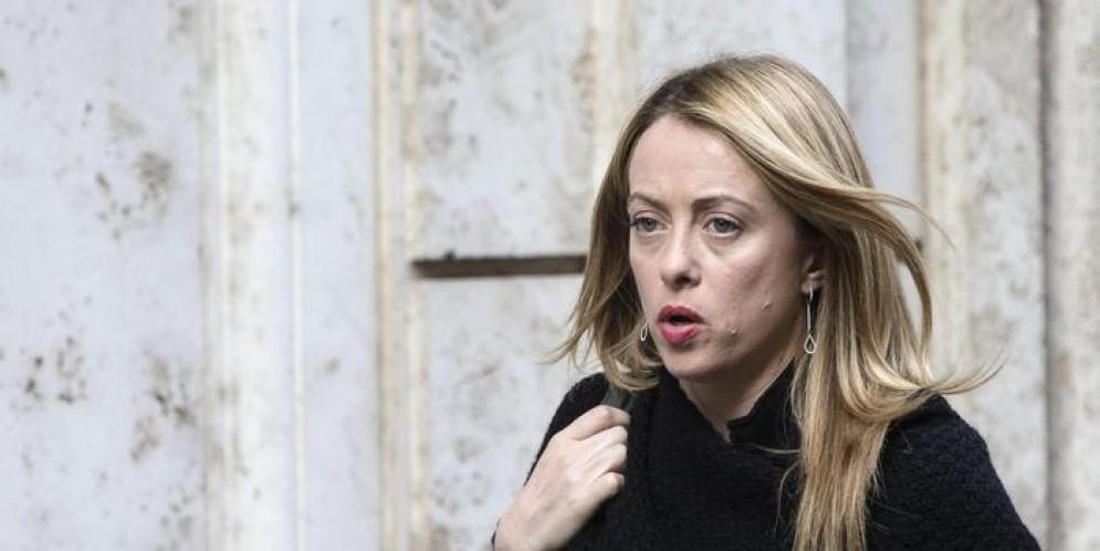 La leader di Fratelli d'Italia: «Ludopatie? Sì a linea dura Beccalossi»