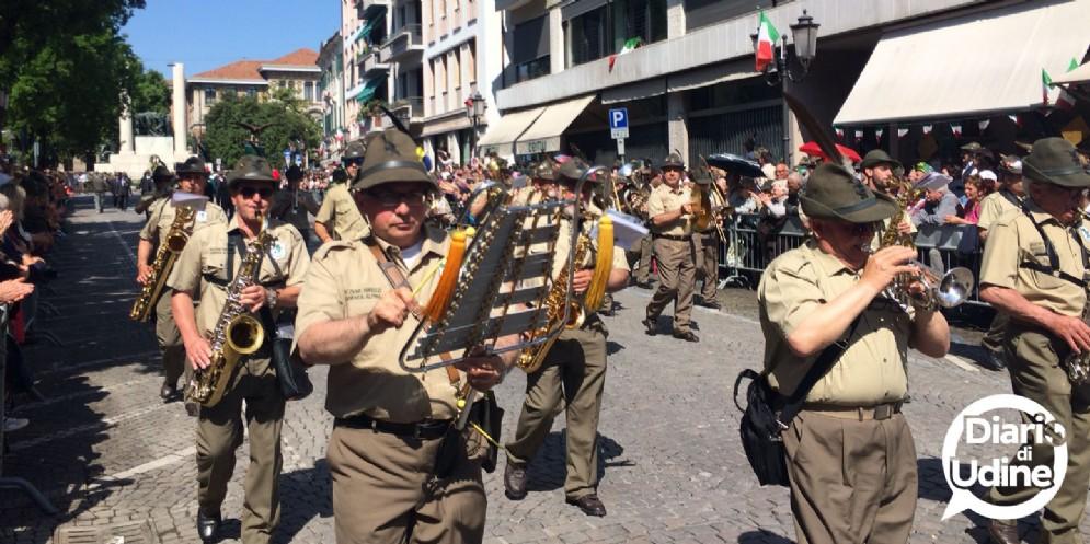 L'Adunata degli alpini di Treviso