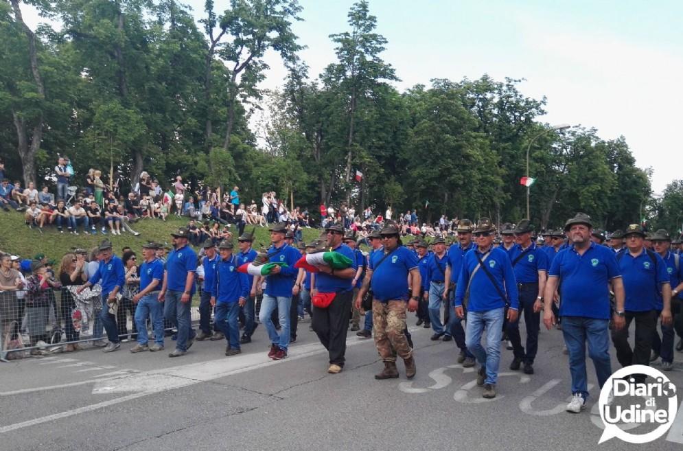 Festa grande a Treviso per l'Adunata degli alpini