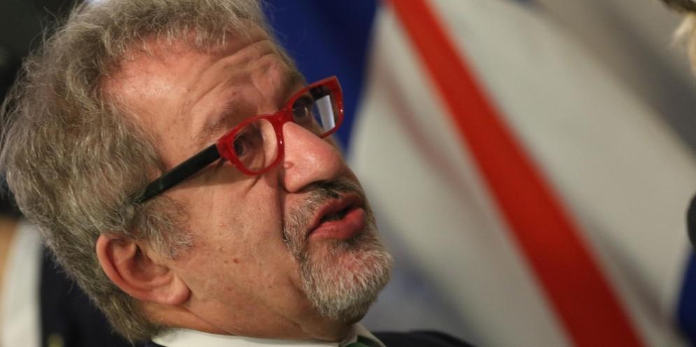 Il governatore della Lombardia, Roberto Maroni.