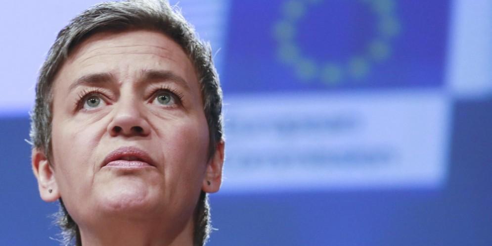 La commissaria Ue alla concorrenza, Margrethe Vestager.