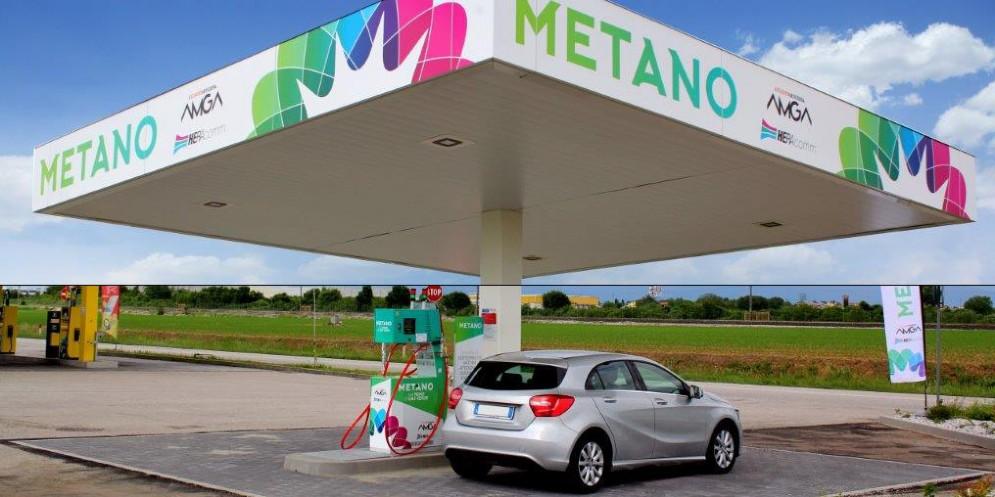 Nuovo impianto di rifornimento a metano in viaLumignacco