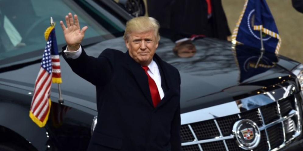 Donald Trump alla sfida del primo viaggio