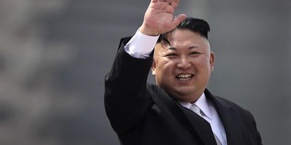 Il presidente nordcoreano Kim Jong-Un.