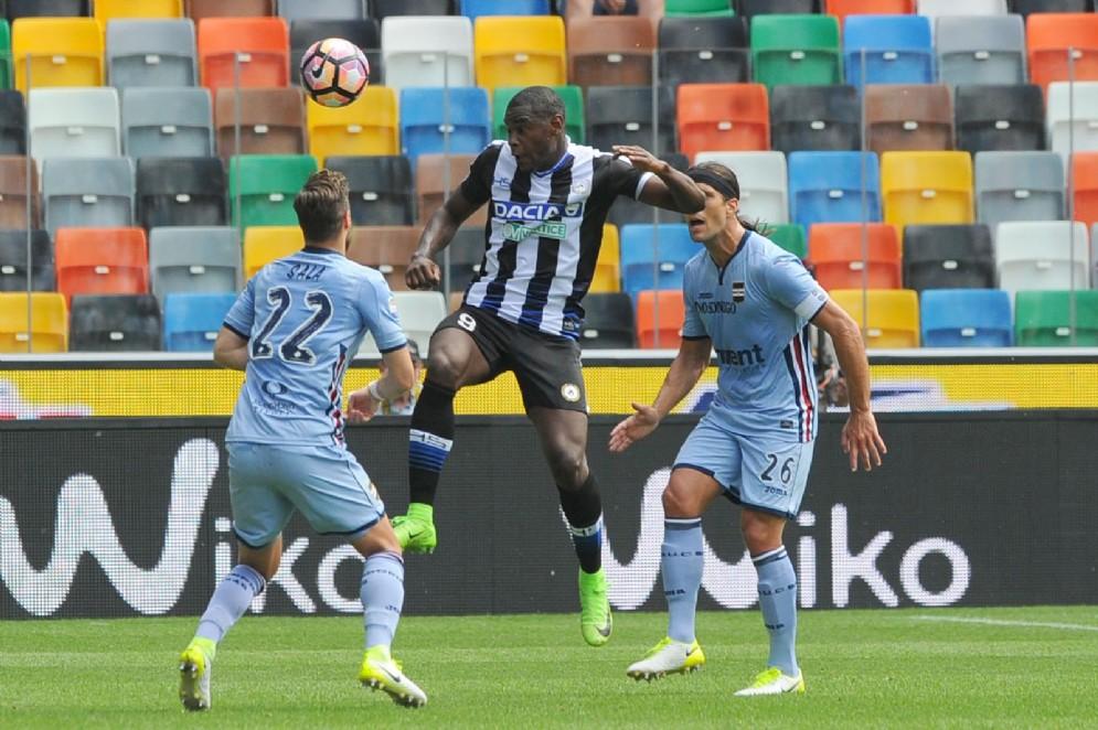 Tra Udinese e Sampdoria finisce 1 a 1