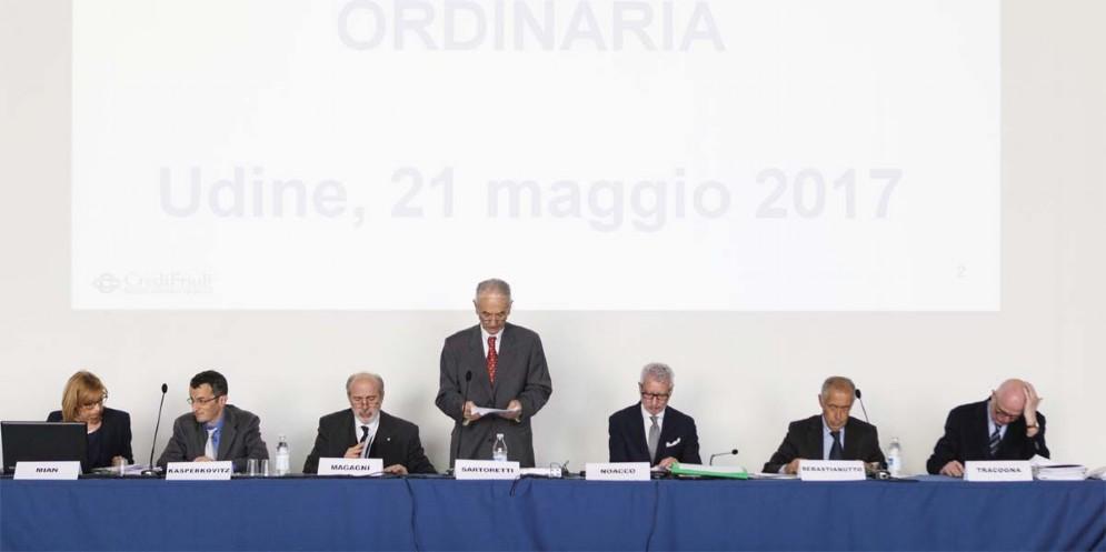 CrediFriuli in Assemblea: l'utile 2016 supera i 6,8 milioni di euro