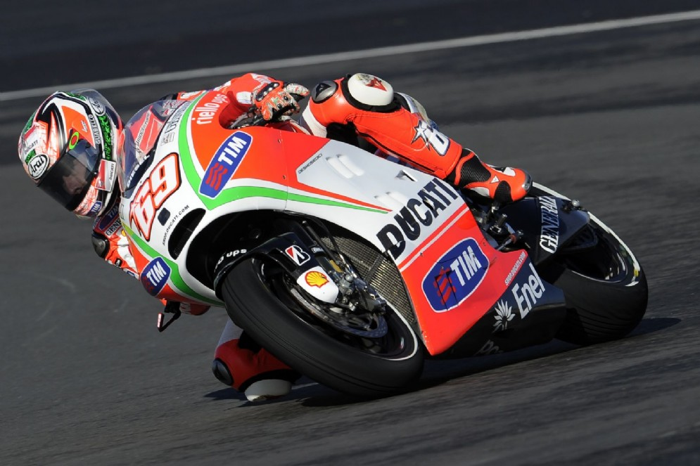 Nel 2012 ai tempi della Ducati