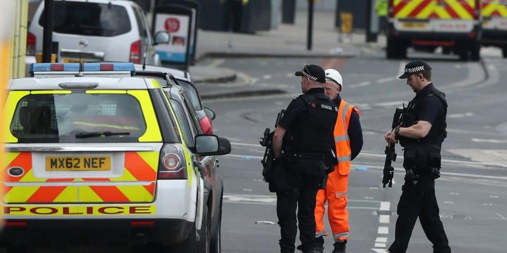 Polizia a Manchester