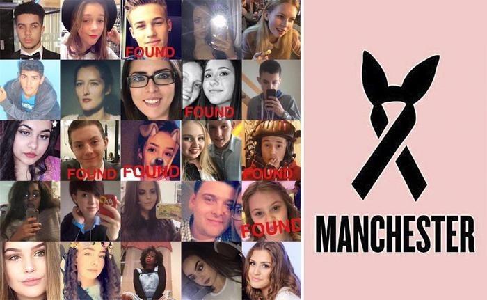 Le foto di alcune vittime della strage di Manchester