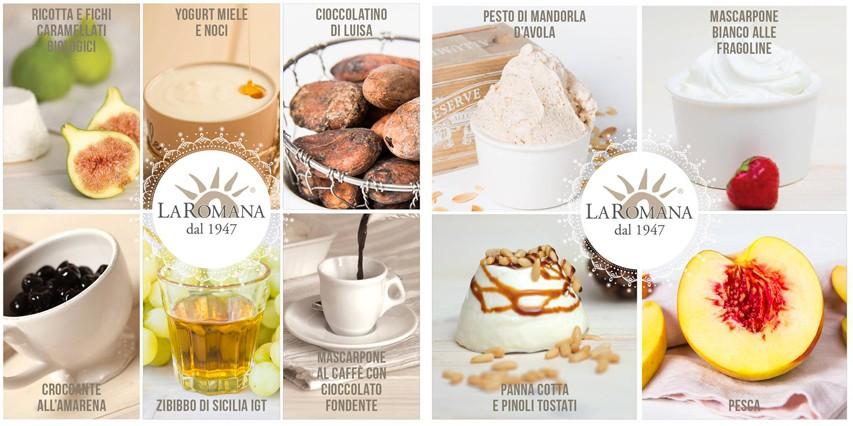 I gusti presenti nella degustazione offerta il giorno dell'inaugurazione