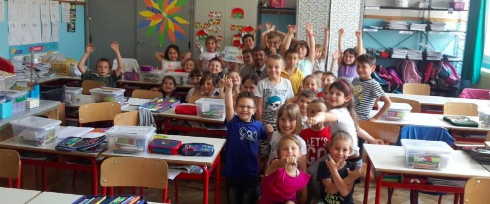 I bambini della scuola di Muggia