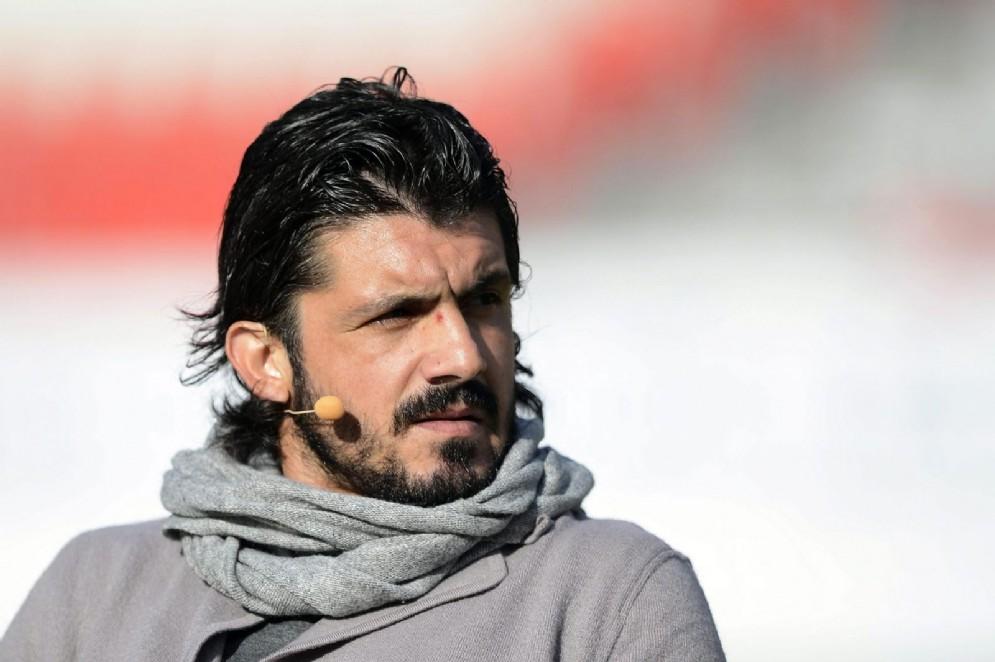 Gennaro Gattuso, ha giocato nel Milan dal 1999 al 2012