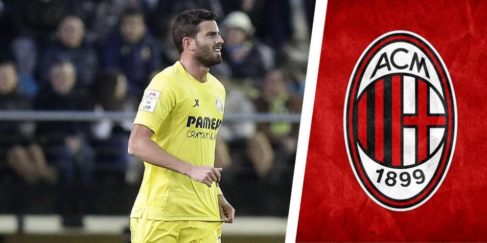 Mateo Musacchio, difensore argentino del Villarreal ormai prossimo a passare al Milan