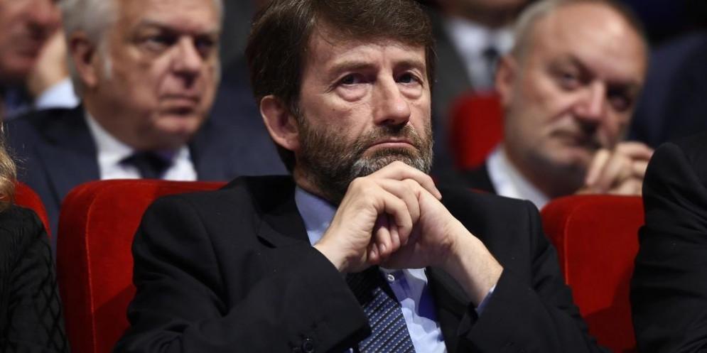 Il ministro dei Beni culturali Dario Franceschini