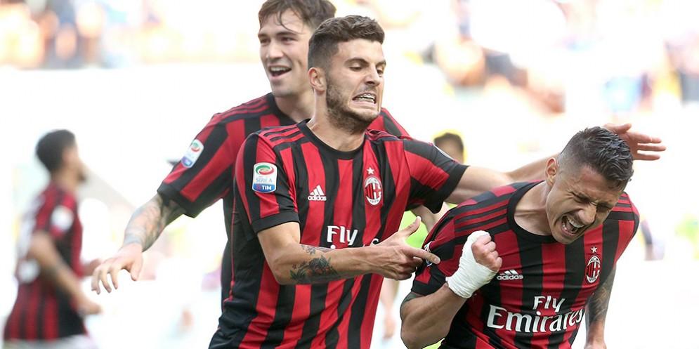 Gianluca Lapadula, attaccante del Milan