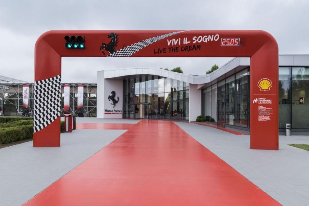 L'ingresso del Museo Ferrari