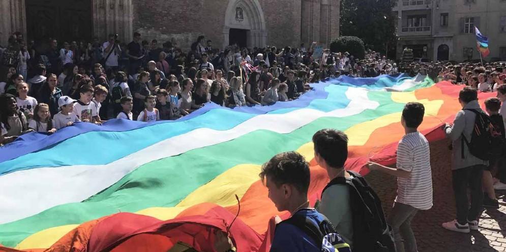 Meeting regionale delle scuole per la pace: in piazza 2.500 studenti (© Regione Friuli Venezia Giulia)