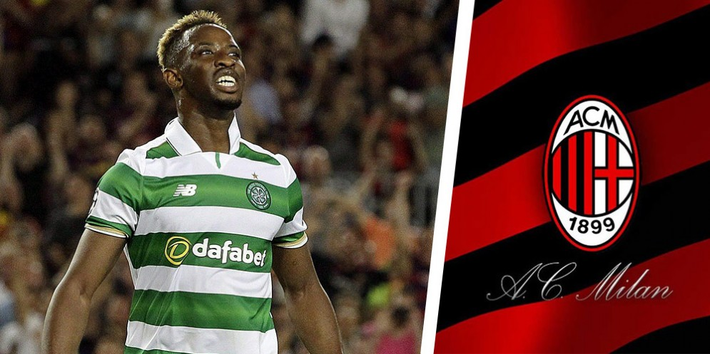 L'attaccante francese Moussa Dembele