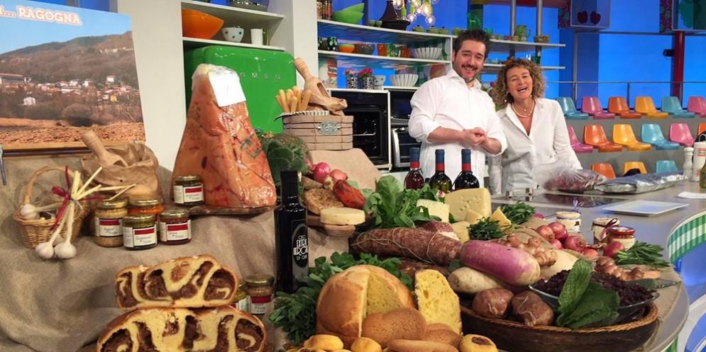 I friulani Manuel Marchetti e Alessandra Negretto dell'Agriturismo Casa Rossa ai Colli di Ragogna