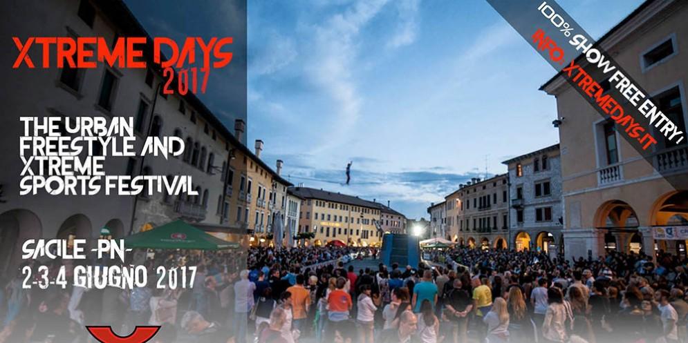 """""""Xtreme Days 2017"""", il festival di sport freestyle ed estremi sta arrivando a Sacile dall 1 al 4 giugno 2017"""