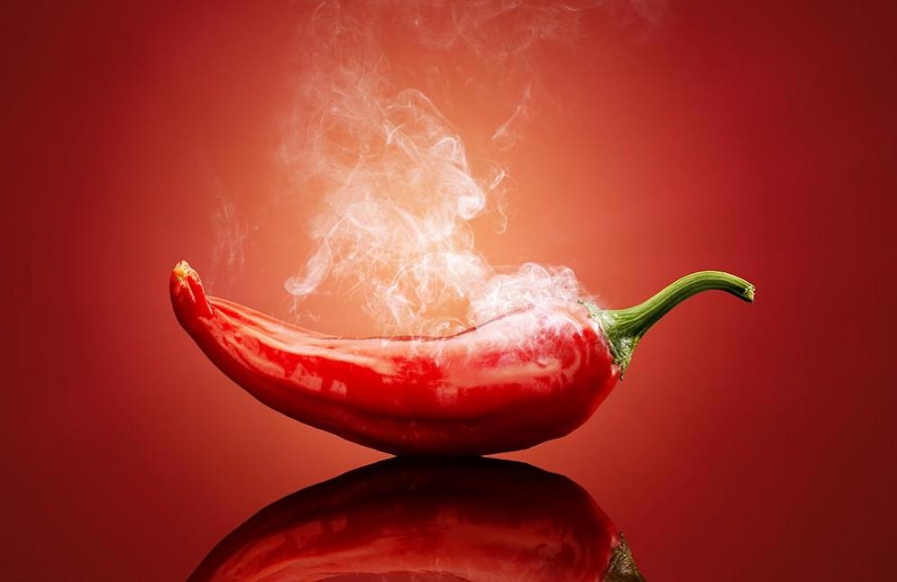 Un peperoncino molto piccante