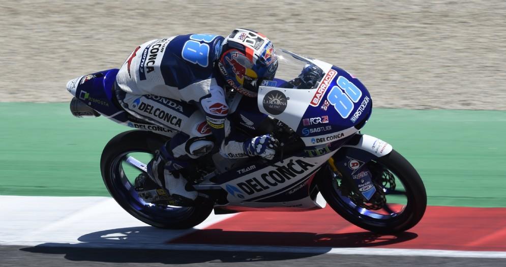 Fabio Di Giannantonio partirà dalla terza posizione della griglia di partenza