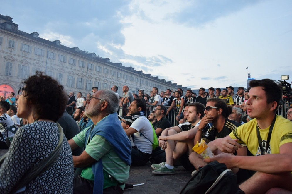Piazza San Carlo Torino, 3 giugno 2017