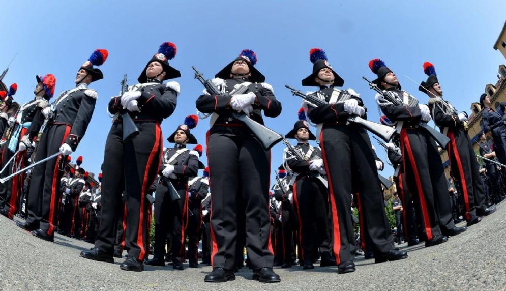 Festa dei Carabinieri - Immagine d'archivio