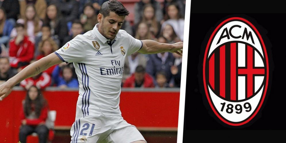 L'attaccante del Real Madrid Morata