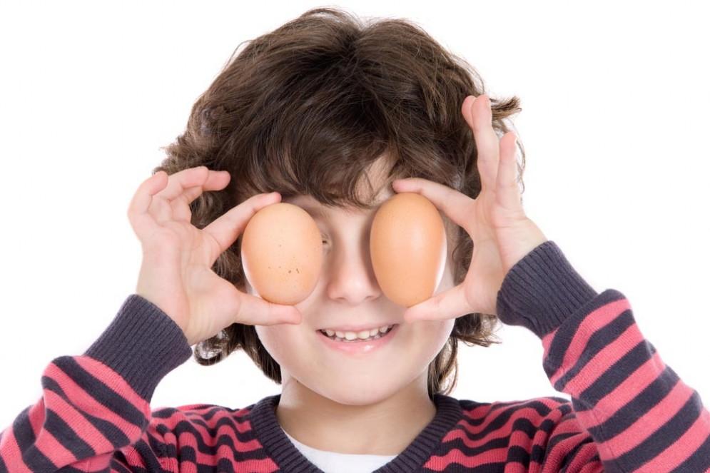 Le uova fanno crescere meglio i bambini, secondo uno studio