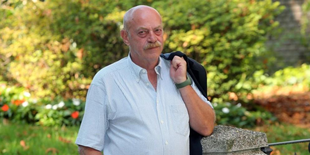 Il giornalista italiano Toni Capuozzo
