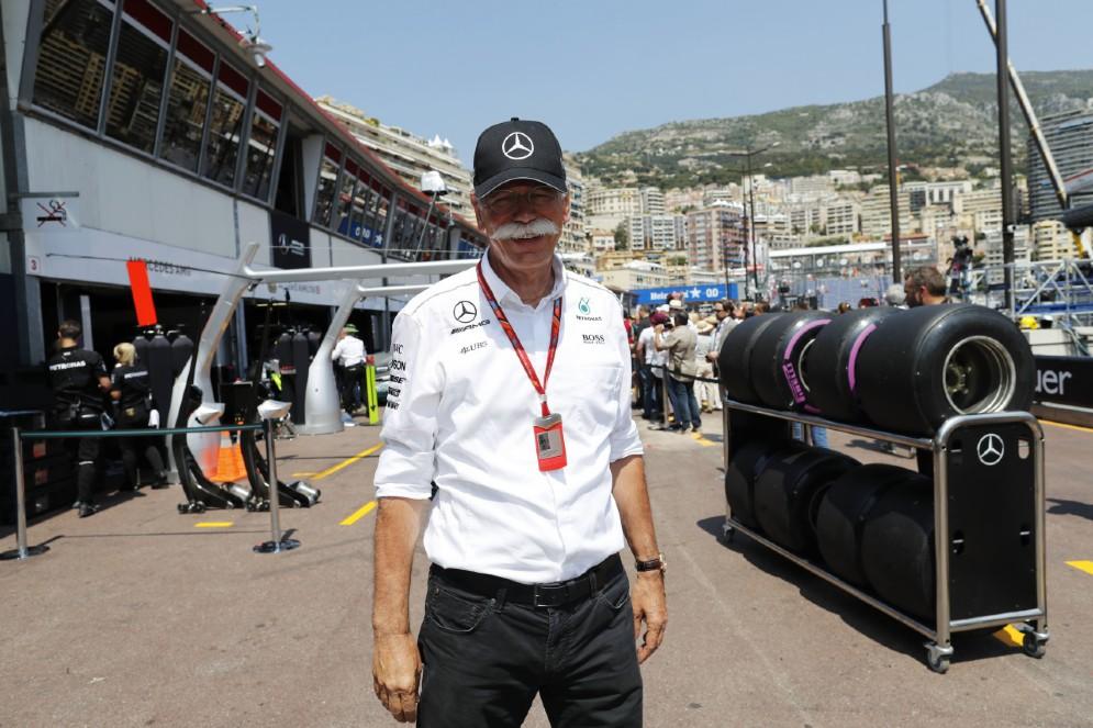 Il boss del gruppo Daimler, Dieter Zetsche