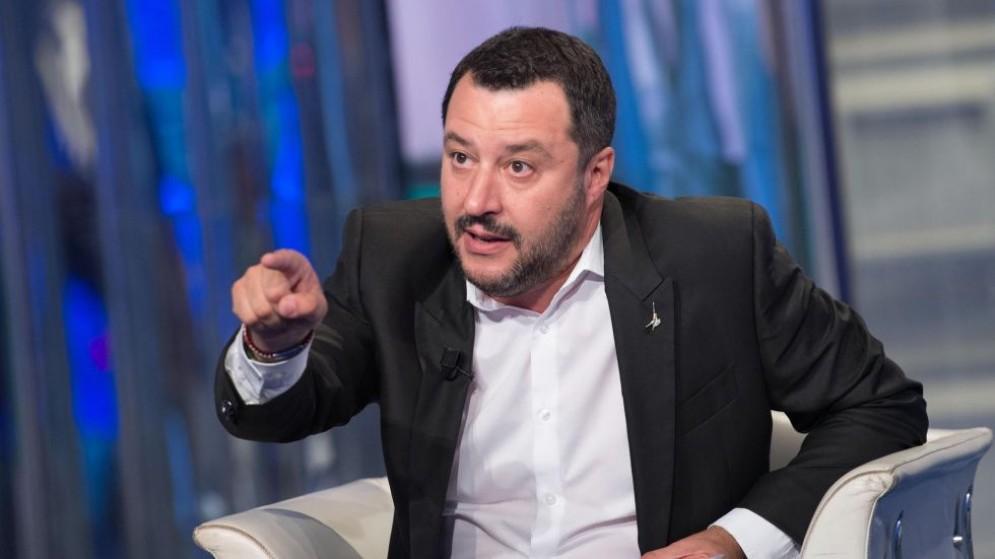 Il leader della Lega Nord, Matteo Salvini, si è infuriato dopo gli eventi che hanno (quasi) decapitato la legge elettorale.
