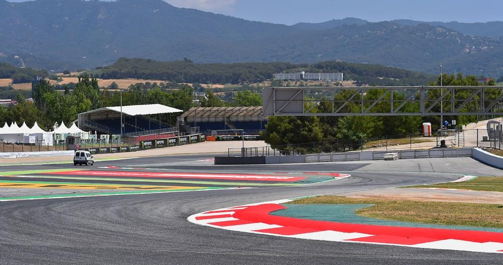 L'ultima chicane incriminata del circuito di Barcellona