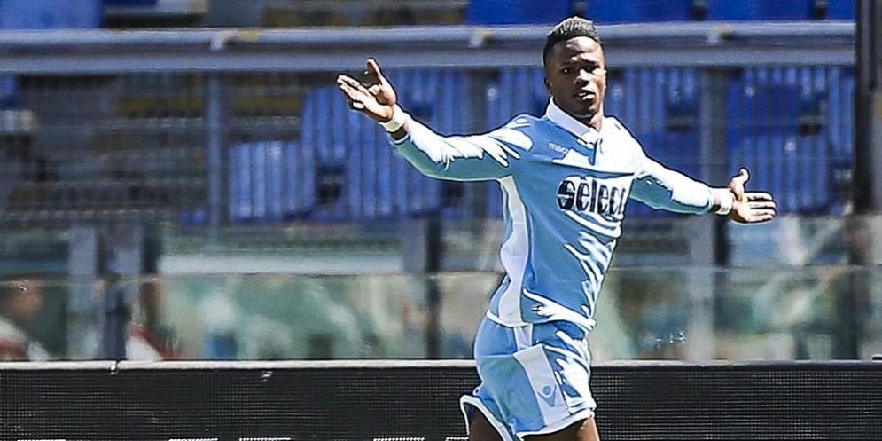 L'attaccante della Lazio Keita Balde Diao
