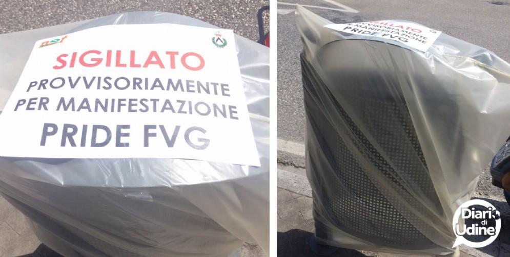 Messo in sicurezza il percorso dell'Fvg Pride (© Diario di Udine)